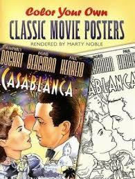 booktopia color classic movie posters dover art