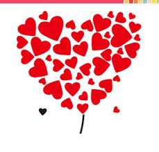 Heart Wall Stickers For Bedrooms Red Heart Wall Stickers For Bedroom Wall Decoration For Home