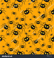 free repeatable halloween background seamless halloween pattern funny spiders stock vector 139276586