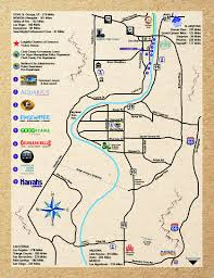 Map Of Yuma Arizona by Map Laughlin Chamber Of Commerce