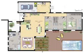 plan de maison 6 chambres plan de maison 6 chambres plain pied gratuit