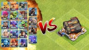 clash of clans all troops all max troops