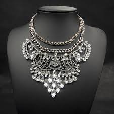 long chunky chain necklace images 2014 new fashion necklace vintage silver big chunky chains jpg