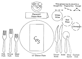 Formal Table Setting How To Set A Table The Art Of Femininity