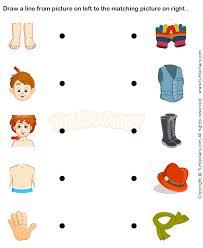 body parts prek worksheets preschool science pre k print me