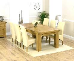 Oak Dining Table With 6 Chairs Extendable Dining Table With 6 Chairs Aboutyou Space