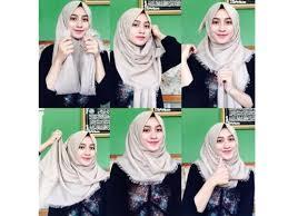 tutorial hijab segi empat paris simple tutorial hijab segi empat simple info seputar model hijab masa kini