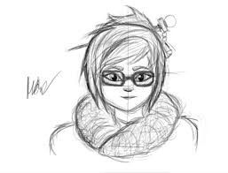 learning to draw day mei from overwatch how does it look imgur
