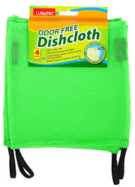 Free Green by Amazon Com Lunatec Odor Free Dishcloths The Perfect Scrubber