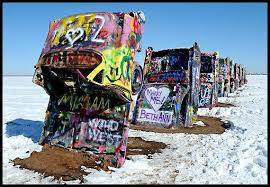 cadillac ranch carolina route 66