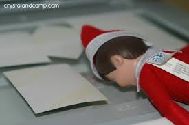 elf on the shelf ideas he uses the copy machine