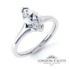 engagement rings london ama marquise platinum diamond engagement ring diamond and