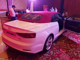 pink audi audi launches the a5 range at prices between rs 54 70 lakhs