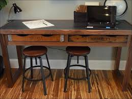 wood metal desk living room wonderful rustic wood and metal desk modern rustic