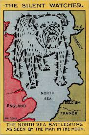 North Sea Map U Boats And Octopuses Collide In These Wwi Propaganda Maps Atlas