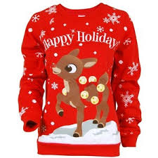 rudolph sweater sweaters polyvore