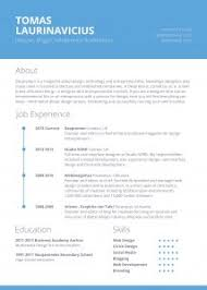 The Perfect Resume Example by Free Resume Templates 40 Template Designs Freecreatives For