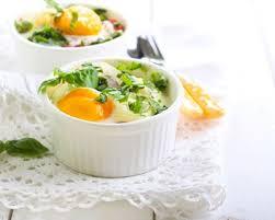 cuisine oeuf recette oeuf cocotte au camembert facile rapide