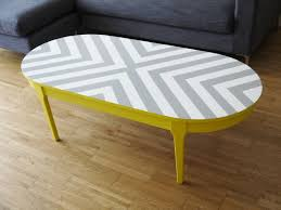 Oval Wood Coffee Table Best 25 Yellow Coffee Tables Ideas On Pinterest Refurbished