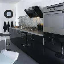 meuble haut cuisine noir laqué meuble cuisine noir laquac meuble cuisine noir laquac leroy merlin