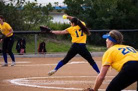 hot softball bats hot bats pitching leads softball to split against arizona