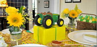 deere wrapping paper a tractor birthday party the seasoned