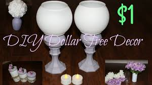 easy dollar tree diy wedding or home decor dollar store youtube