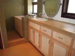 bathroom cabinets build in vertical grain fir and birds eye maple