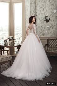 wedding dress sleeve eb006 illusion sleeve wedding dress with an exquisite lace