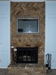 how to cover a fireplace surround and make a mantel how tos diy