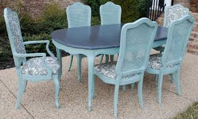 shabby chic dining set top 74 outstanding shabby chic dining table oval blue set patio sets