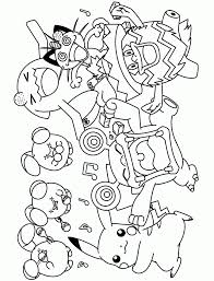 shinx coloring pages pokemon page sheet cartoons pdf gastly