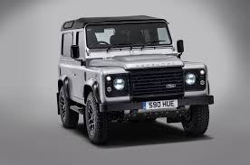 land rover defender 2015 special edition the 2 millionth land rover defender built is a special one off model