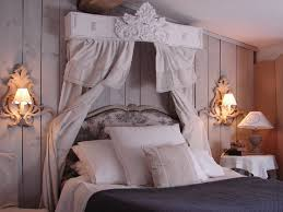 chambre shabby chambre à coucher ciel de lit le grenier d shabby chic