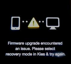how to fix firmware upgrade encountered an issue on samsung galaxy