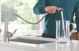 moen one handle pullout kitchen faucet amazon com moen 7294bl arbor one handle high arc pullout kitchen