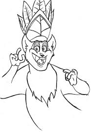 madagascar coloring pages king julien 411148