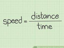 Speed Of Light In Miles Per Hour 3 Ways To Calculate Speed In Metres Per Second Wikihow