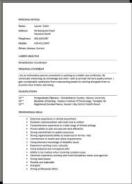 Resume Examples For Hospitality by Cv Formats And Examples