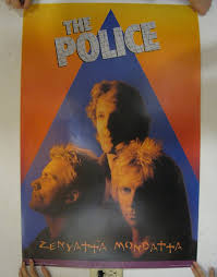 martini and rossi poster amazon com the police sting zenyatta mondatta rare 2 poster