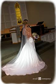 low back wedding dress silk satin mermaid with full by availco
