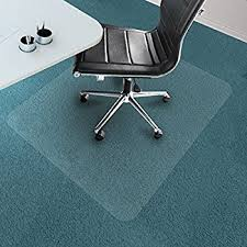 Chair Protection Amazon Com Office Marshal Chair Mat For Carpet Floors Pvc Low