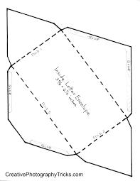 envelope template from creativephotographytricks com self made