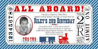 train birthday invitations u2013 frenchkitten net