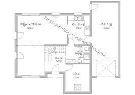 plan maison rdc 3 chambres plan maison rdc 3 chambres