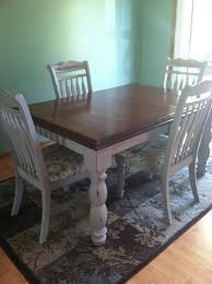 dining room table redo with annie sloan chalk paint sowsewmama