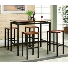 furniture 3 piece counter height table set high top dining