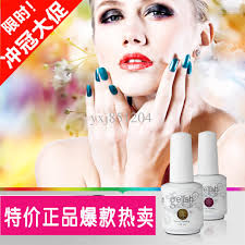 nail art color gelish soak off uv led gel polish china glaze nail