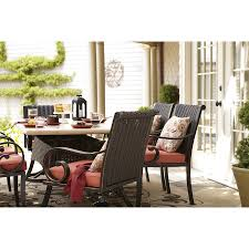 Patio Dining Chair Shop Allen Roth Pardini Patio Dining Chair At Lowes Com