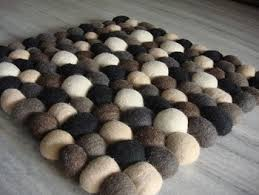 pebble rug wool pebble rug buy pebble rug wool ball rug felt pebble rug